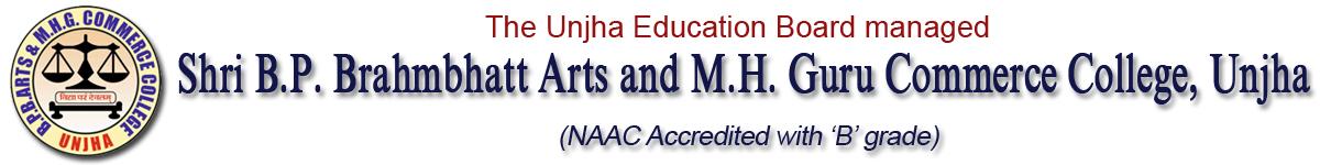 Arts Commerce College Unjha